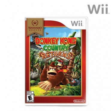 Videojuego WII Donkey Kong Country Returns Select
