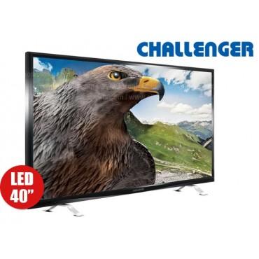 """Tv 40"""" 101 cm LED CHALLENGER 40D27 Full HD Internet"""