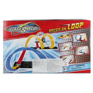 Pista De Carros Flash Speed Racer On Loop (Juguetes)