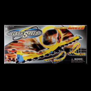 Pista De Carros Flash Speed Racing Racer (Juguetes)