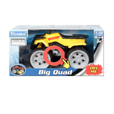 Cuadrimoto Big Quad (Juguetes)