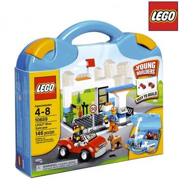Estación de Gasolina LEGO Bricks and more Maletín Azul