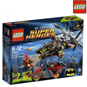 LEGO Superhéroes Batman: El Ataque de Man-Bat