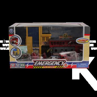 Playset Emergencia Express Wheels