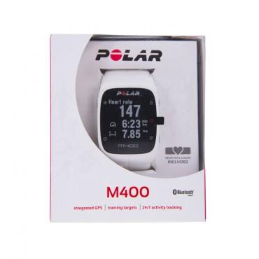 Monitor Polar - M400 - HR Blanco