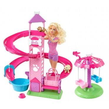 Barbie Hermanas Parque de Diversiones para Mascotas
