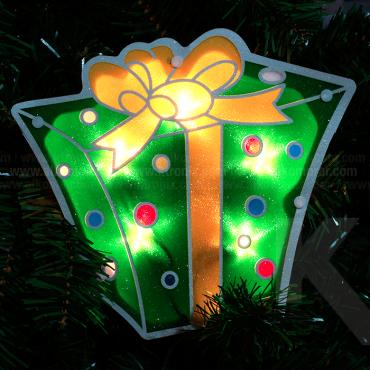 Luces Navidad Regalos x 4