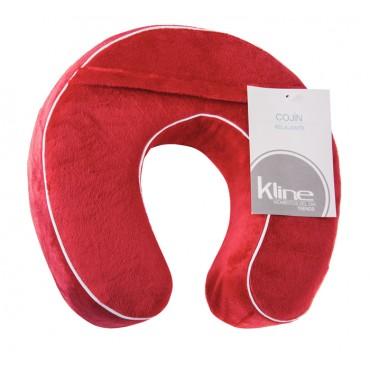 Cojín K-LINE relajante Rojo