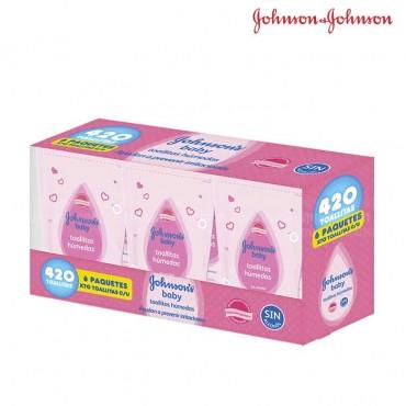 Pañitos JOHNSONS Original x 420 unidades