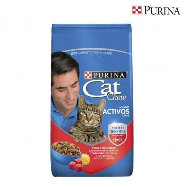 Alimento para Gatos CAT CHOW Adultos Activos Carne 1.5Kg