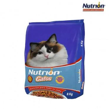 NUTRION Gatos 8 Kg