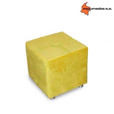 Puff ESPUMADOS Coralina Chanel Amarillo