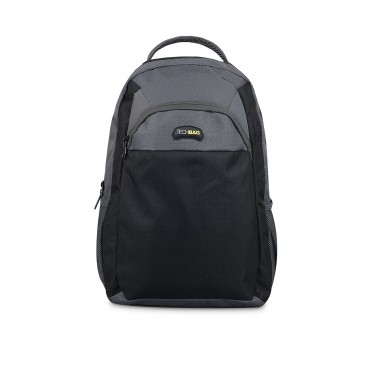 "Morral TECHBAG 15"" Negro/Gris"
