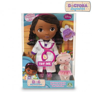 Muñeca con voz DOCTORA JUGUETES 28 cms