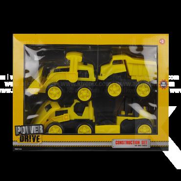Set Construcción Power Drive x 4