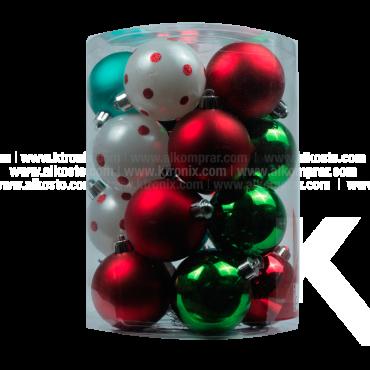 Esfera Set x 20 6 cm Brillante Varios