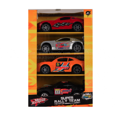 Super Rally Team Friction Car 1:24