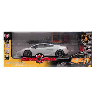 Vehículo R/C Lamborghini Gallardo LP560 White 1:16 RTR