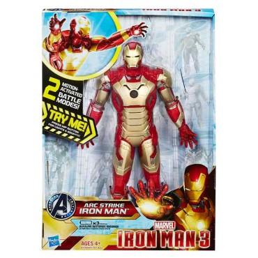 "Figura Electronic Iron Man 10"""