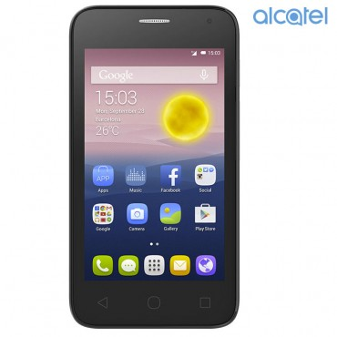 Celular Alcatel Pixi First 3G Plata - Blanco