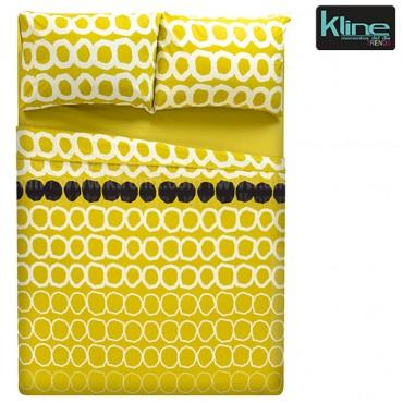 Juego de cama K-LINE estampado circulos sencillo