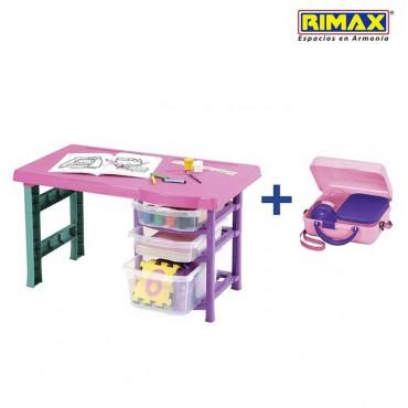 Escritorio Infantil RIMAX Vanity + Obsequio