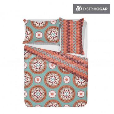 Comforter DISTRIHOGAR Estampado Doble HIPPIE