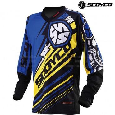 Jersey SCOYCO T200 Azul