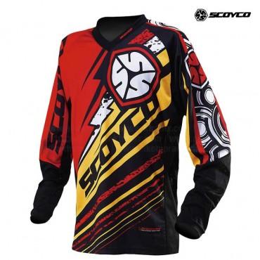 Jersey SCOYCO T200 Rojo