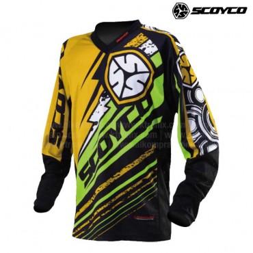 Jersey SCOYCO T200 Verde