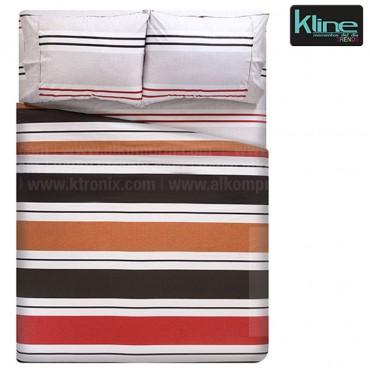 Juego de cama K-LINE estampado rayas sencillo