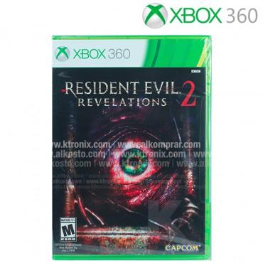 Videojuego XBOX 360 Resident Evil Revelations 2
