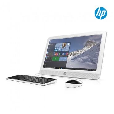 "PC All in One HP 20-E110 19.45"" Celeron® Blanco"
