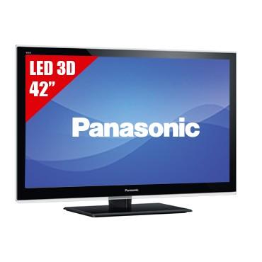 "TV 42"" LED PANASONIC 42ET5W FHD 3D"