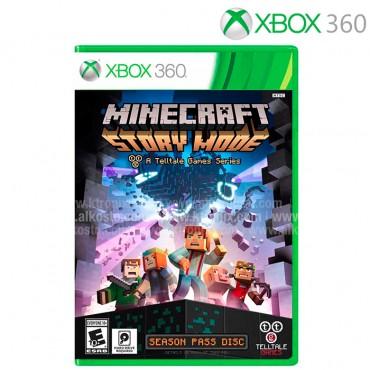Videojuego XBOX 360  Minecraft Story Mode