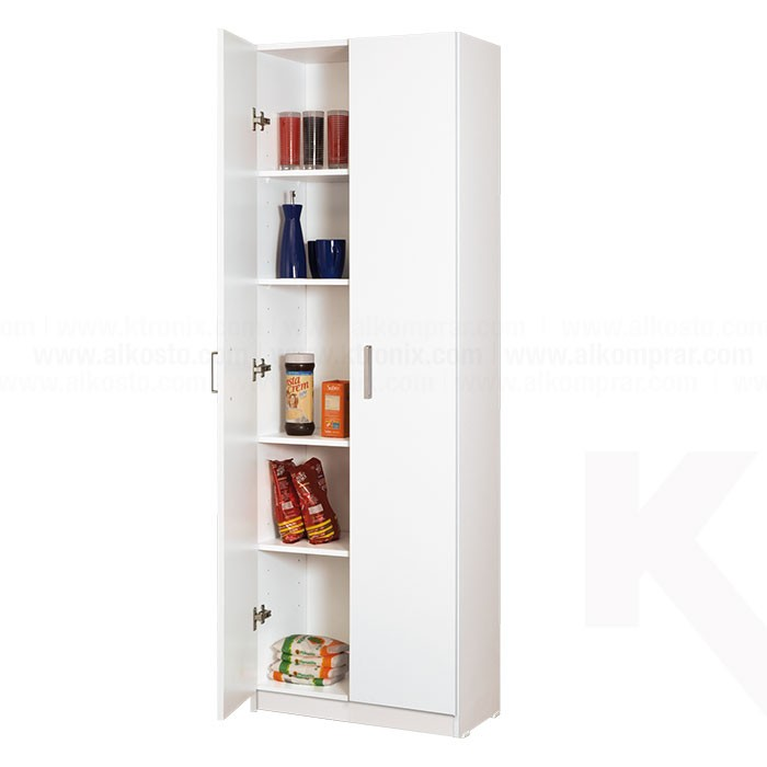 Gabinete auxiliar moduart para cocina blanco for Armado de gabinetes de cocina