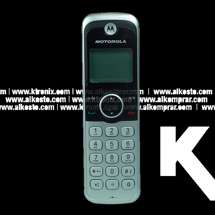 Teléfono MOTOROLA Inalámbrico Bluetooth Doble Alkosto.com