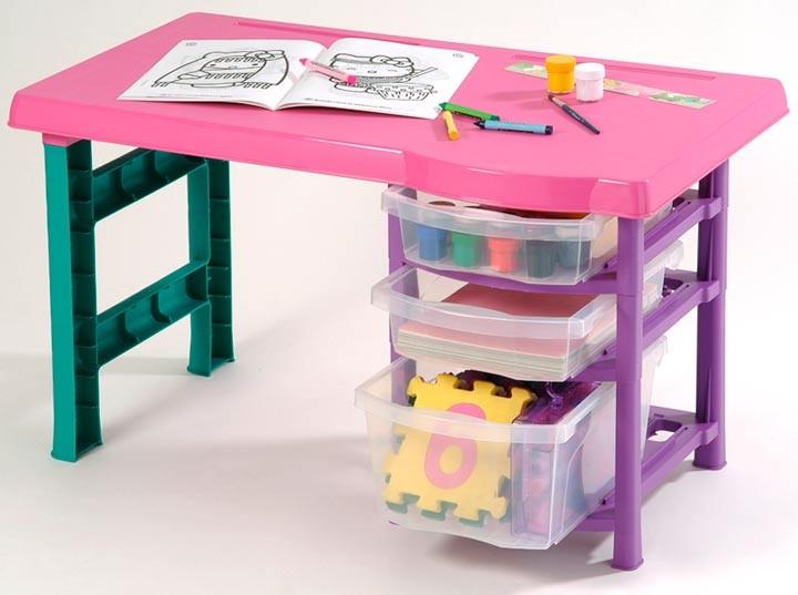 Escritorio rimax infantil vanity for Mesa escritorio infantil
