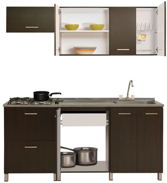 Cocina moduart gabinete superior inferior izquierdo for Cocinas integrales alkosto