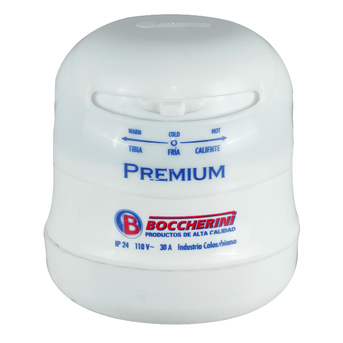 Ducha boccherini el ctrica premium for Llaves para ducha homecenter