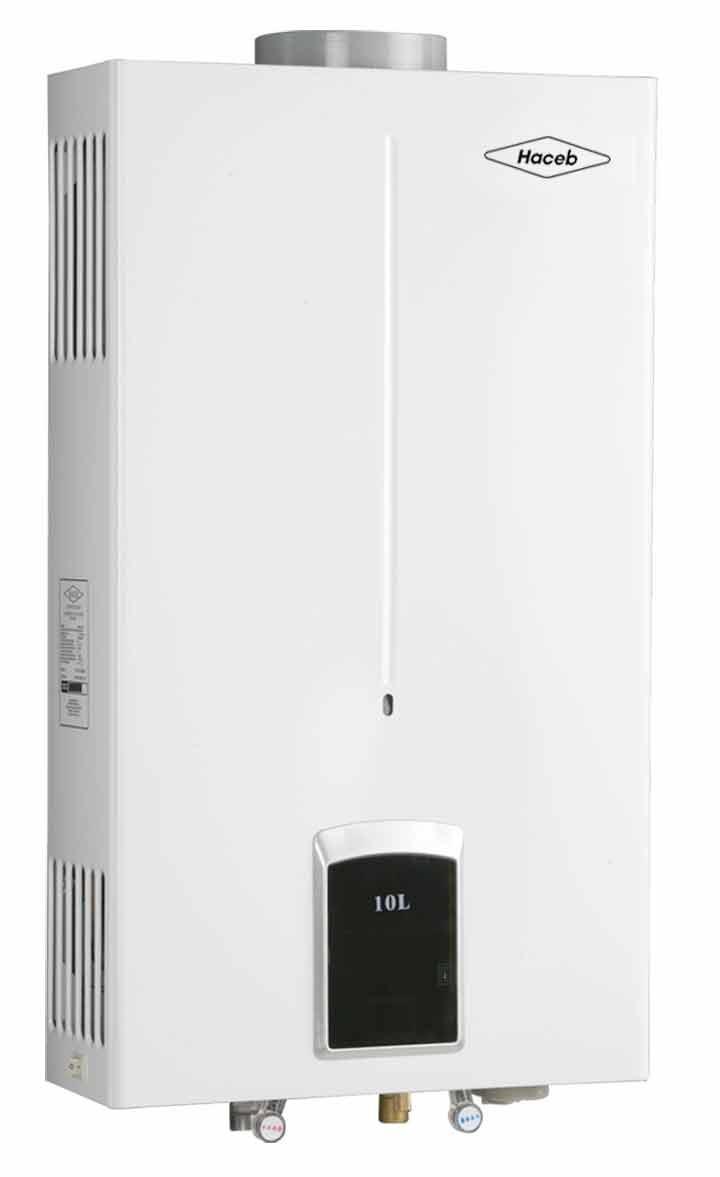 Calentador de paso haceb cpg 10l tiro natual gas natural - Tipos de calentadores de gas ...