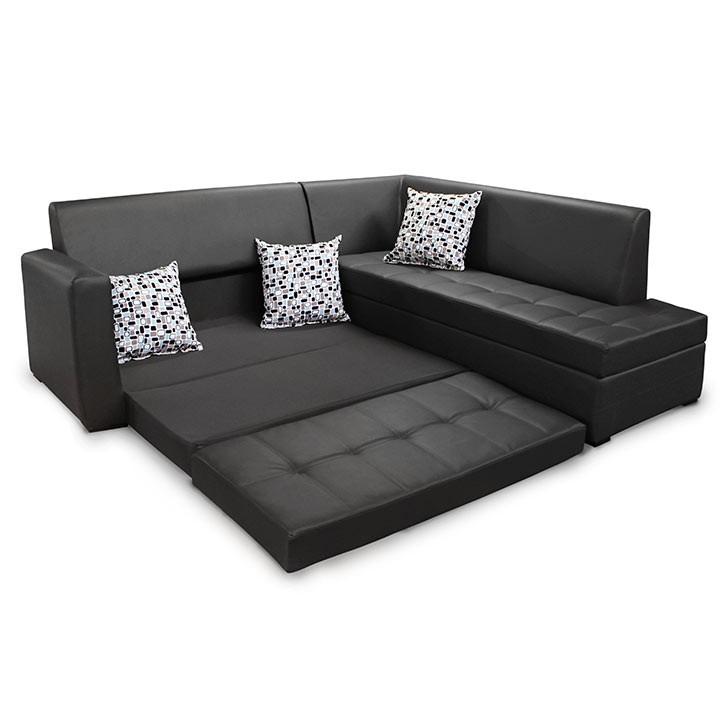 Esquinero cama mercuri jazz negro for Sofa que se hace litera