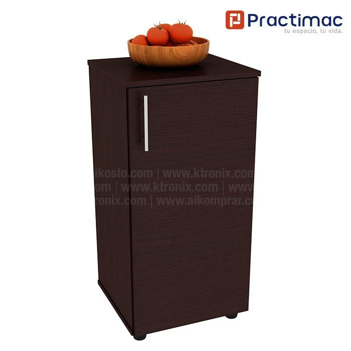Mueble auxiliar de cocina practimac lavanda wengue pm20009we - Amazon mesa auxiliar cocina ...