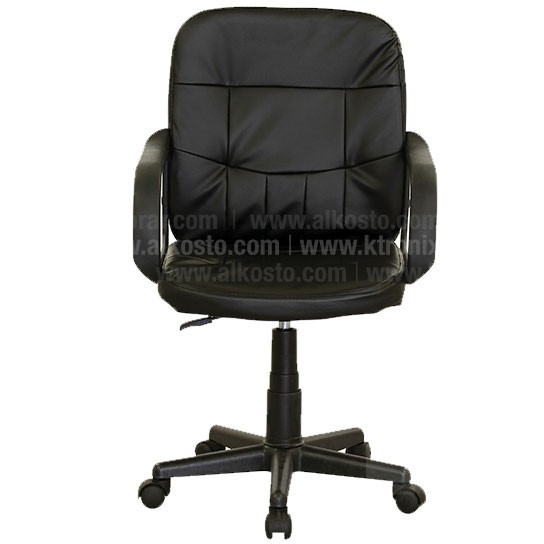 Silla ejecutiva negra 6104b for Sillas oficina amazon