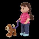 Muñeca Con Mascota Fantasy Collection (Juguetes)