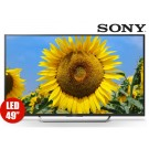 "TV 49"" 123.2cm LED SONY 49X707D 4K"