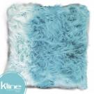 Cojín K-LINE Peludo Azul 50x50 cm