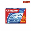 Crema Dental COLGATE Triple Acción Extrablancura 100 ml x3 und.