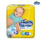 Pañal PEQUEÑIN Extra Protección Etapa 1 Caja 56