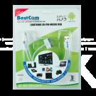 Cable BESTCOM USB/Lighthin/30pi/MicrUSB